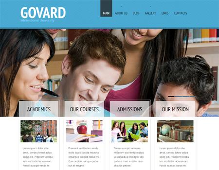govard - 教育関連のWordPressテーマいろいろ