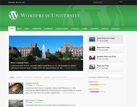 wordpressuniversity - 教育関連のWordPressテーマいろいろ