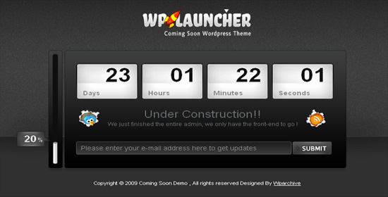 WpLauncher WordPress Theme