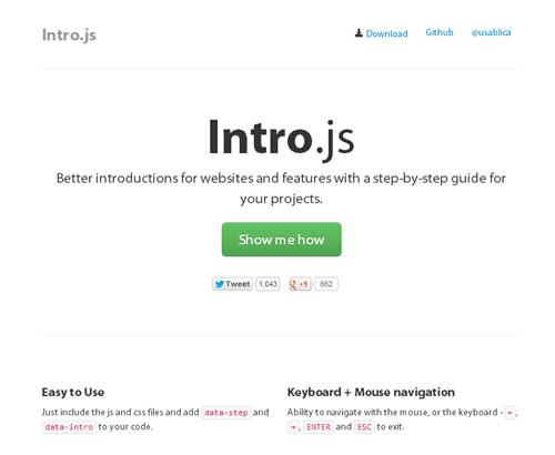 Intro.jsを使う前 - 簡単にWebサイトツアーが作れるスクリプト「Intro.js」
