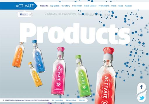 Activate - パララックス効果を使ったサイト10個