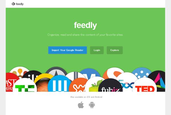 GoogleReaderをインポート - GoogleリーダーからFeedlyに乗り換えたので、その方法と感想