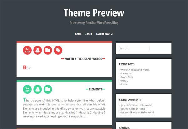Crangasi - WordPressの129テーマを見て、テーマ変更の参考に