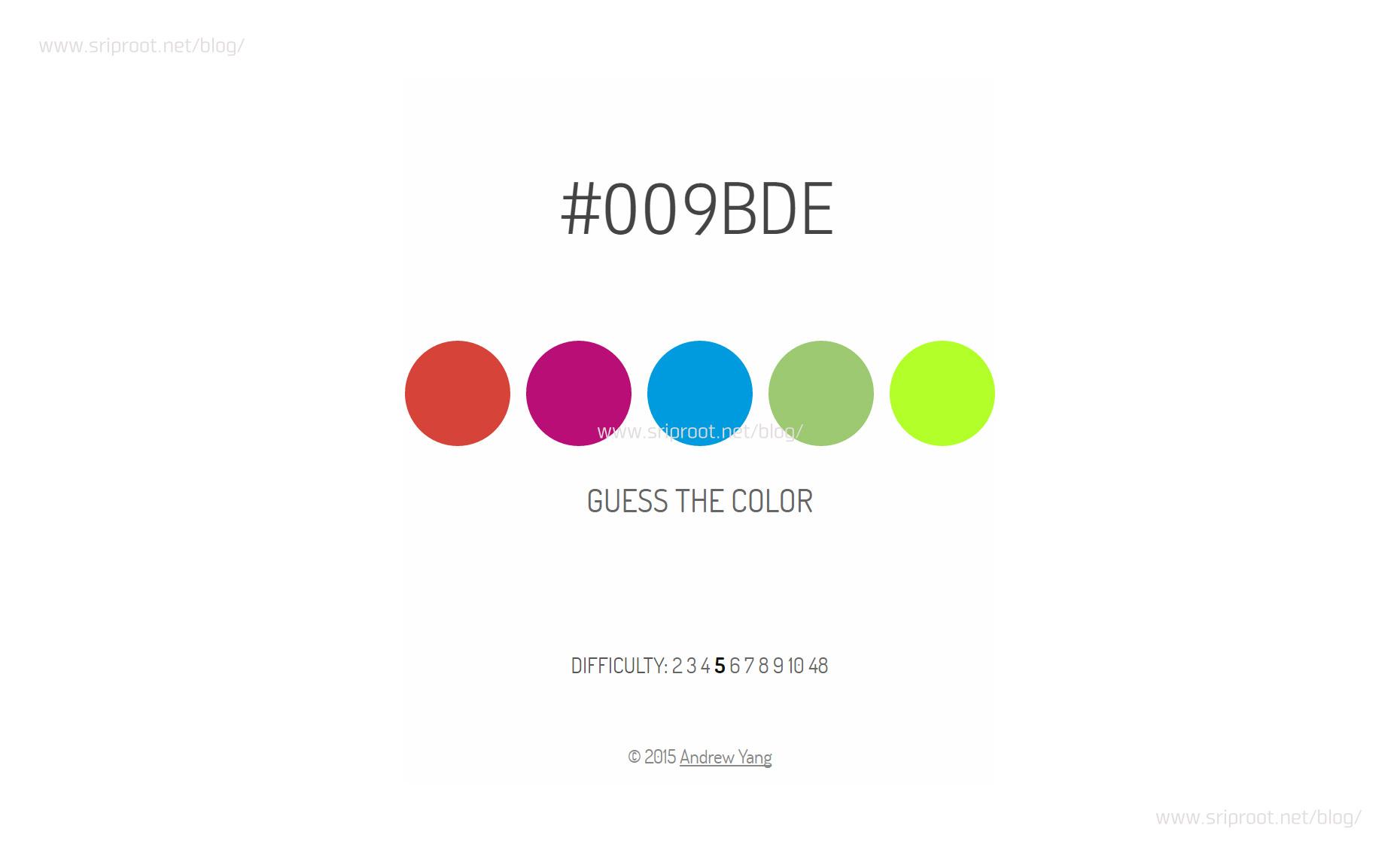 Webデザイナーなら完璧?16進数カラーコードをイメージできる?